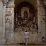 Mosteiro de Alcobaça -Capela consagrada à morte de S. Bernardo