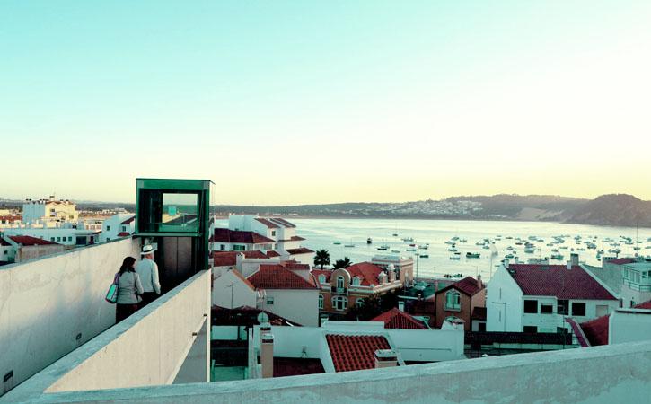 São Martinho do Porto, elevador panorâmico,Goalcobaca, o teu Guia Turístico Local