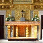 Nossa Senhora da Conceição Chapel, Alcobaça, altar detail