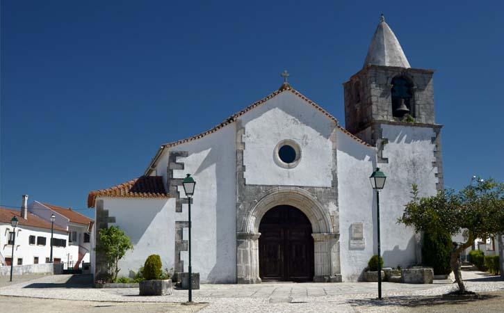 Religious Heritage in Alcobaça Nossa Senhora dos Prazeres Church